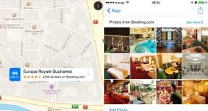 Apple Maps Romania harti actualizate review hotel feat