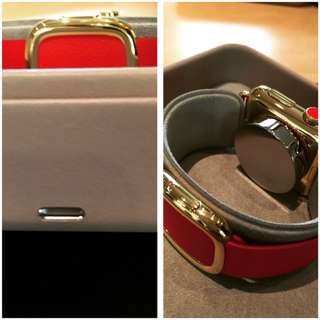 Apple Watch Edition cutie