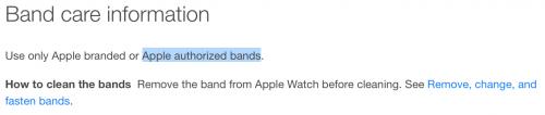 Apple Watch accesorii terte