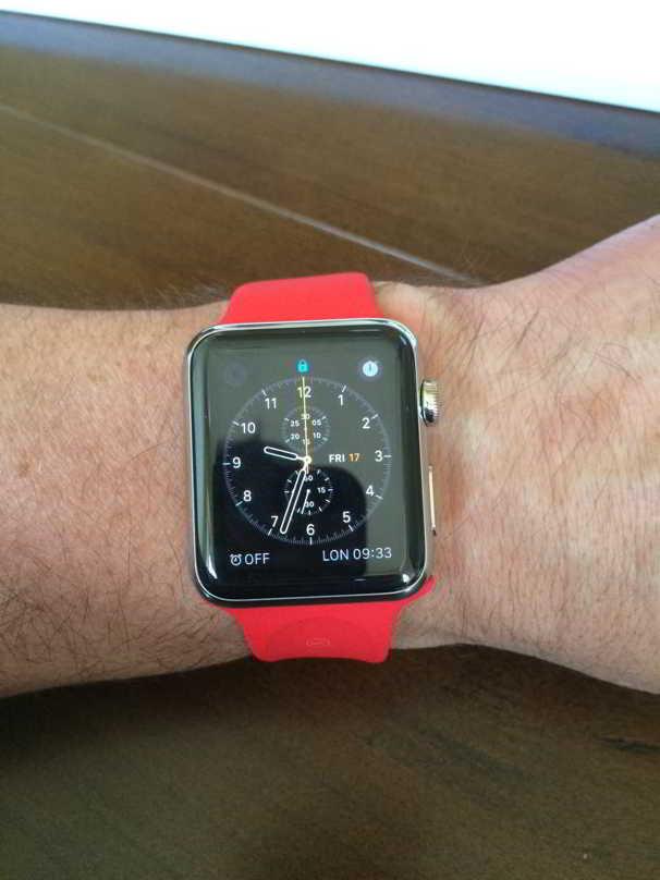 Apple Watch bratara rosie
