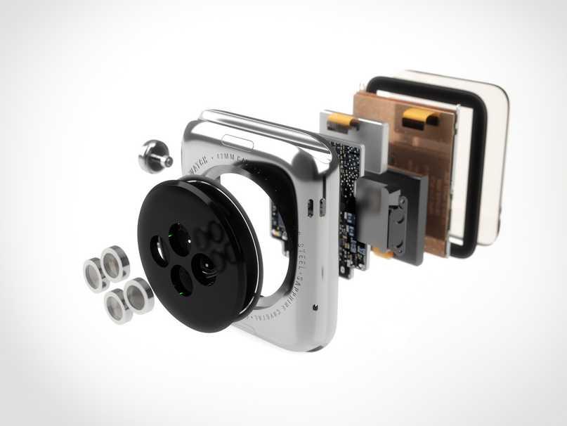 Apple Watch componente interne principal