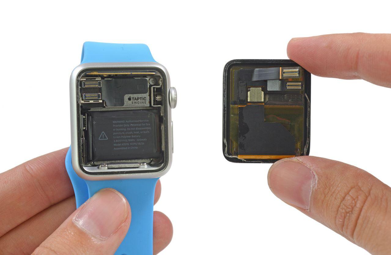 Apple Watch dezasamblat 1