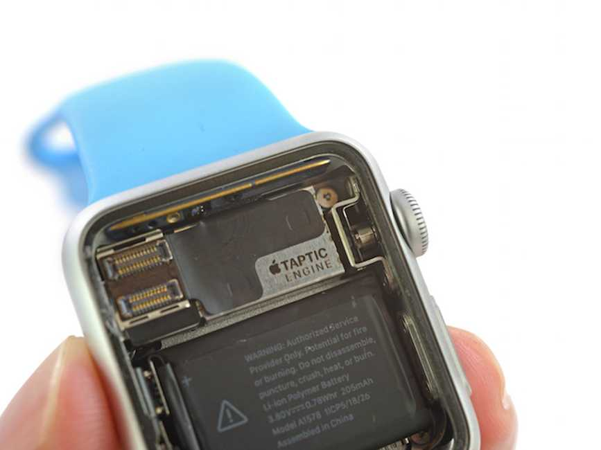 Apple Watch dezasamblat