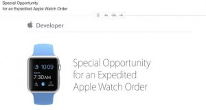 Apple Watch dezvoltatori