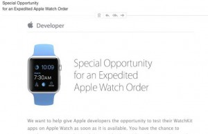 Apple Watch dezvoltatori