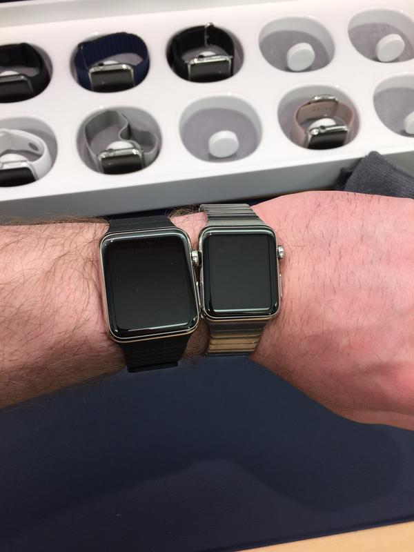 Apple Watch diferenta 38mm 42mm 1