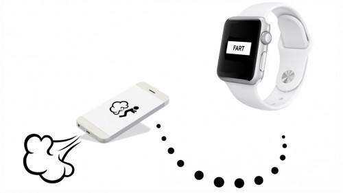 Apple Watch fart apss