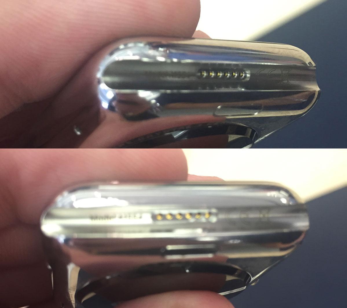 Apple Watch port diagnostic