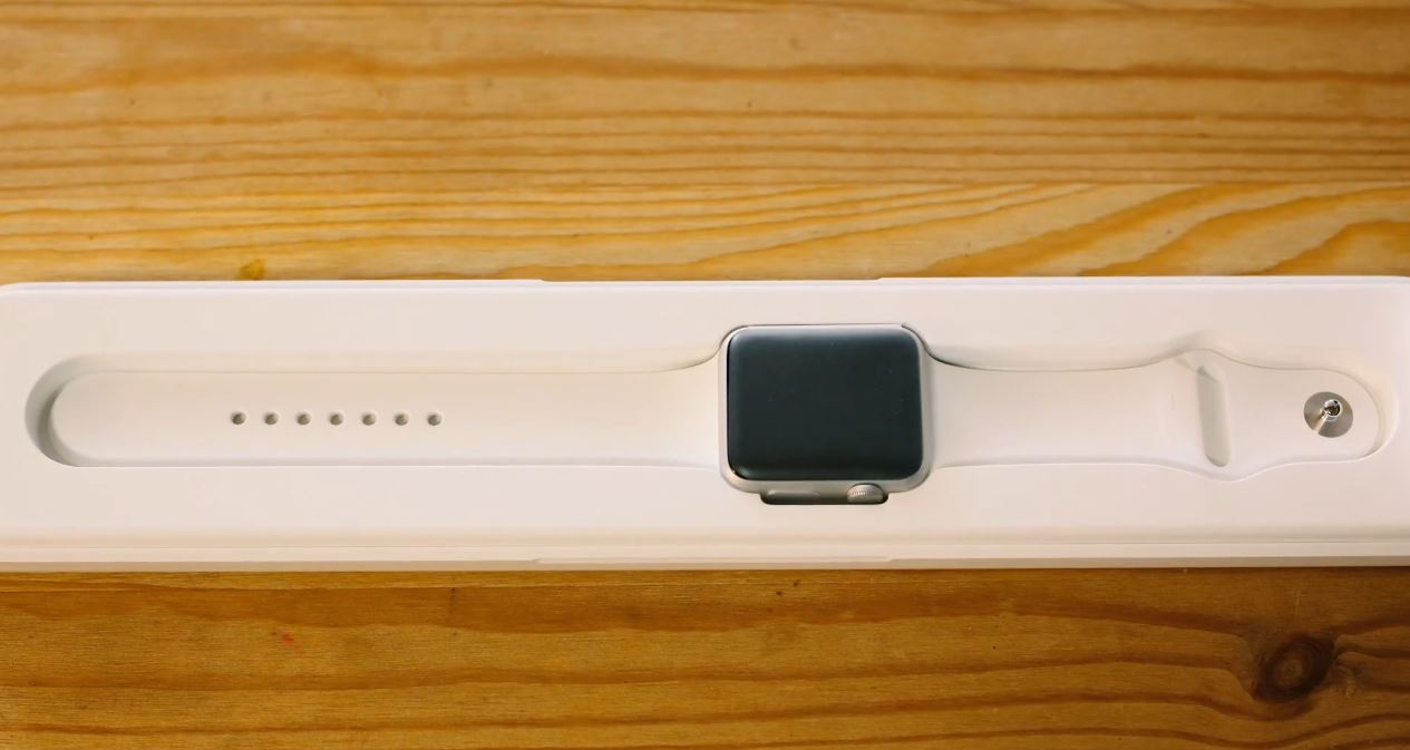 Apple Watch unboxing unic