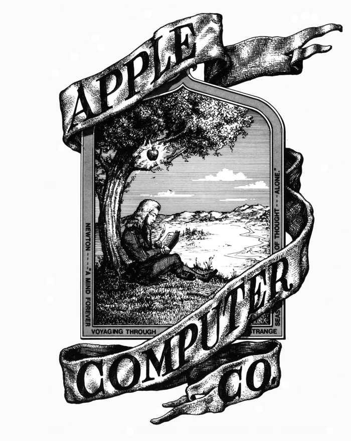 Apple logo original