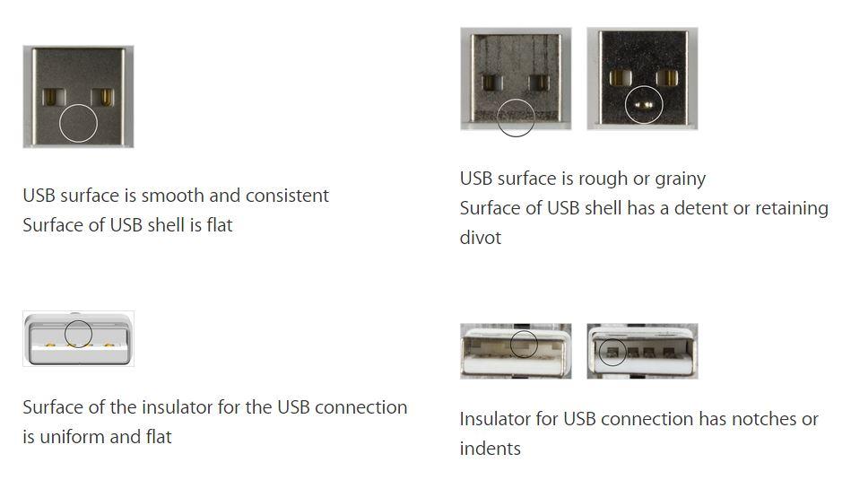 Cum deosebesc un cablu Lightning adevarat de unul fals 4