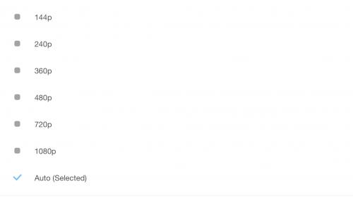 Cum selectez calitatea clipurilor video YouTUbe pe iPhone 1