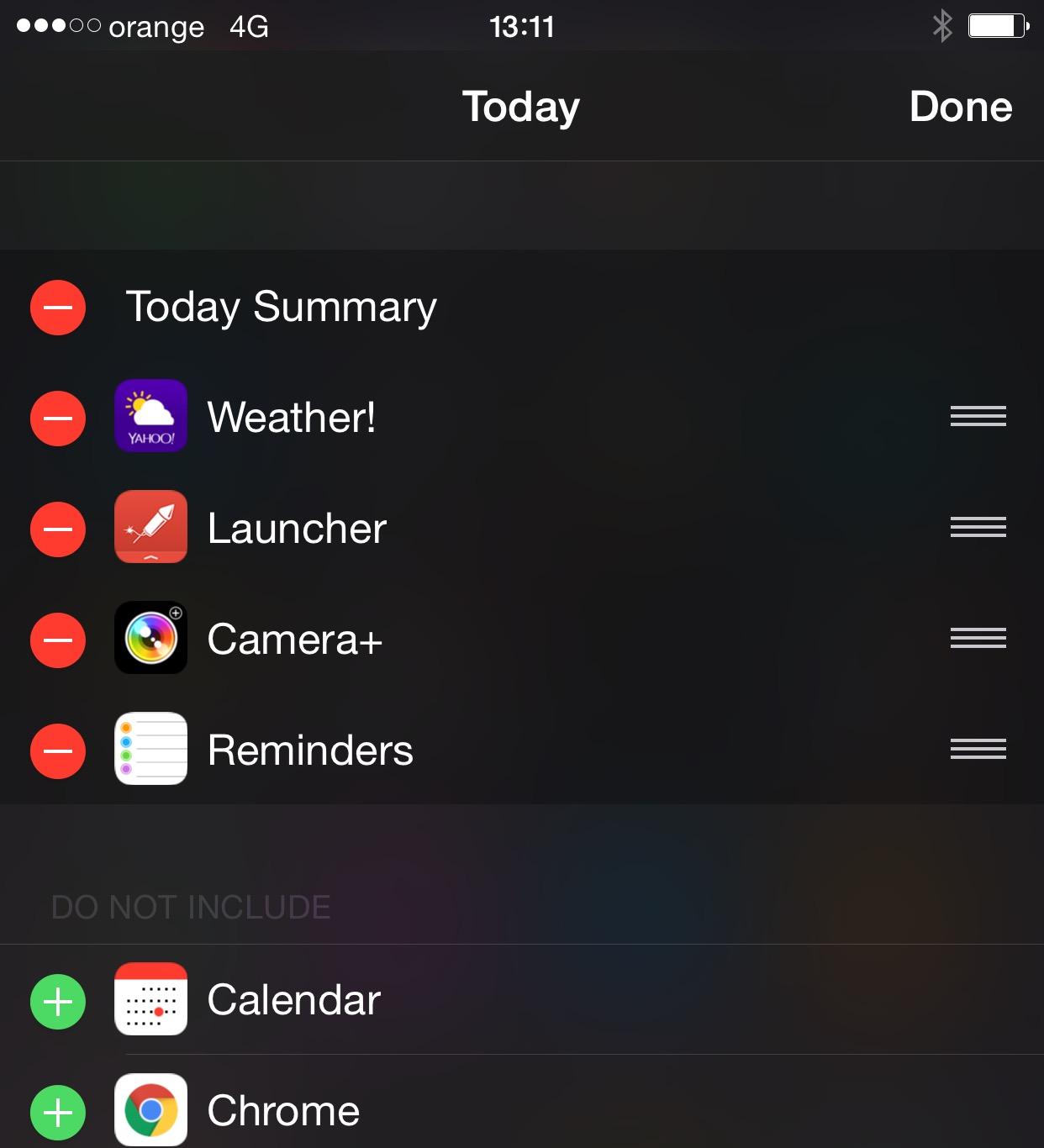Google Chrome iPhone Notifications Center 1