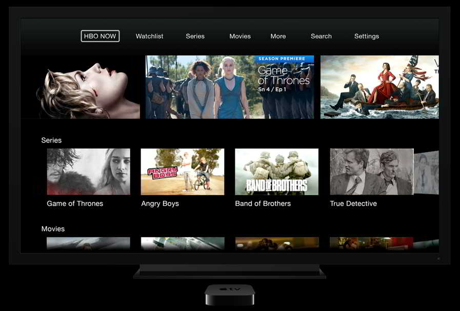 HBO Now Apple TV