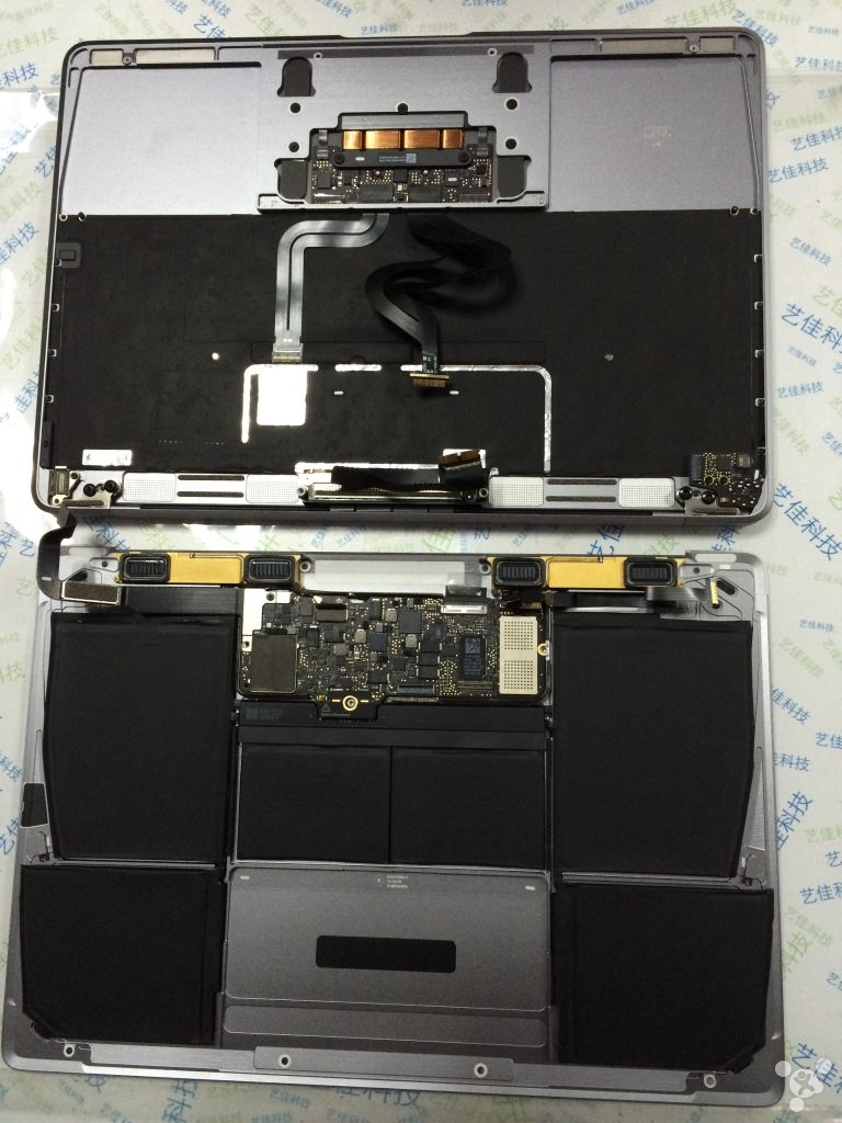 MacBook Air dezasamblat 1