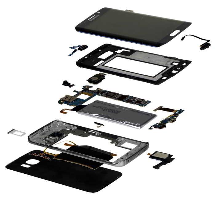 Samsung Galaxy S6 Edge cost productie