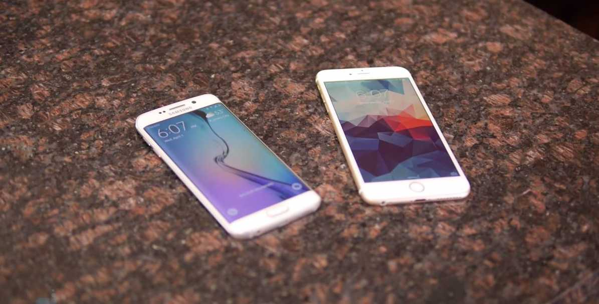 Samsung Galaxy S6 Edge vs iPhone 6 Plus - comparatie detaliata