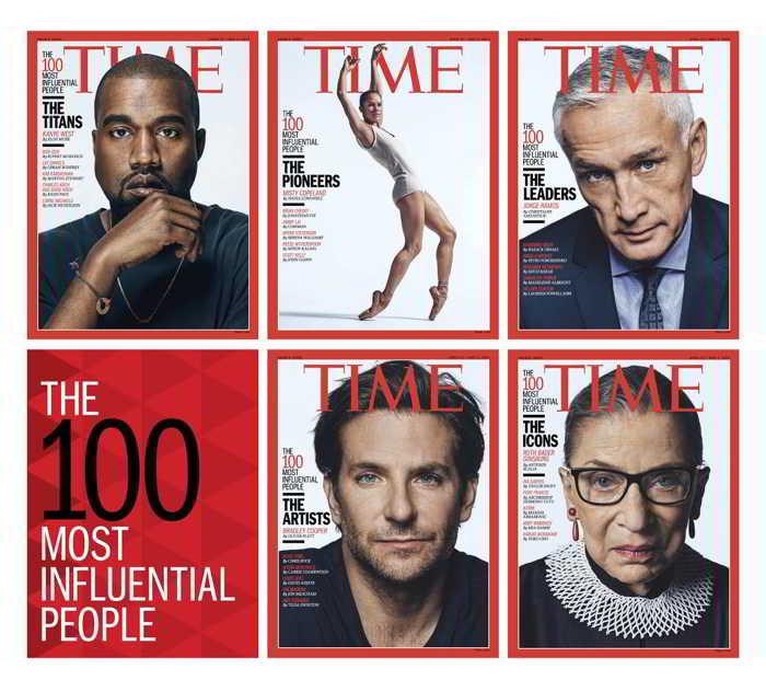 TIME cei mai influenti 100 de oameni