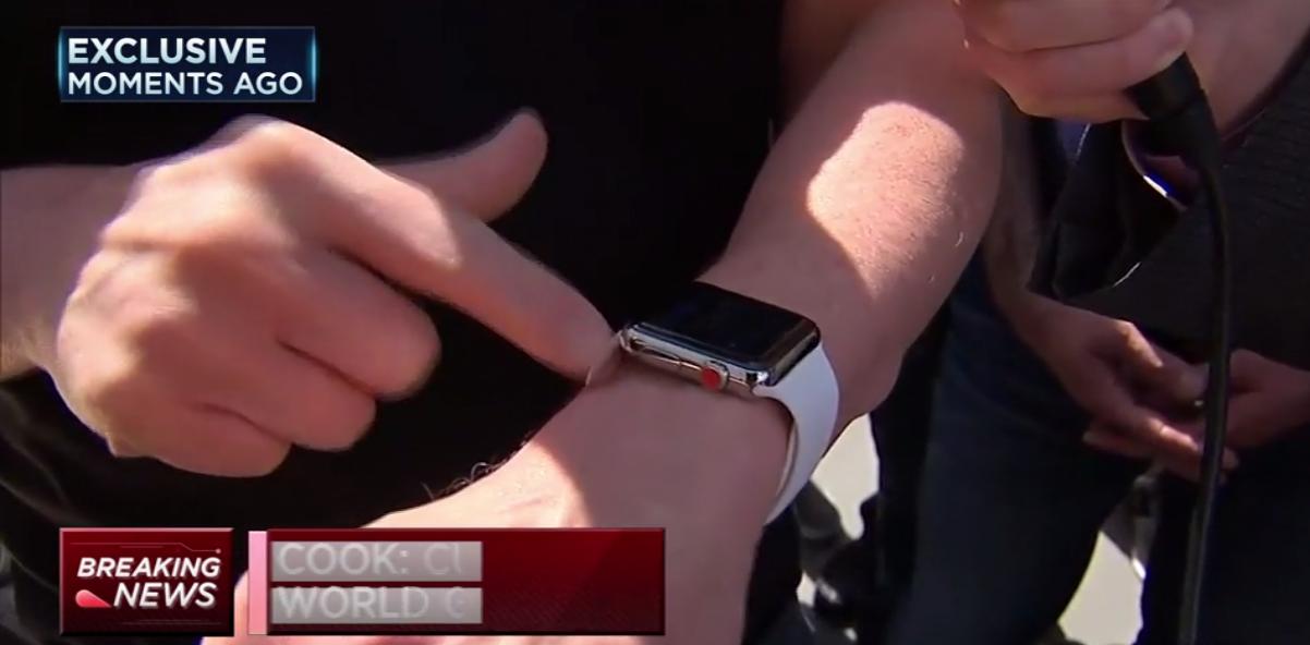 Tim Cook Apple Watch personalizat