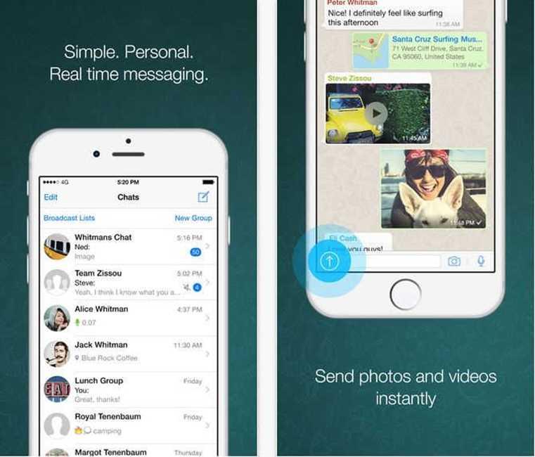 WhatsApp Messenger apeluri VoIP