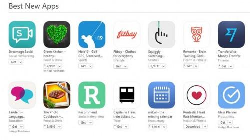 cele mai bune aplicatii noi app store