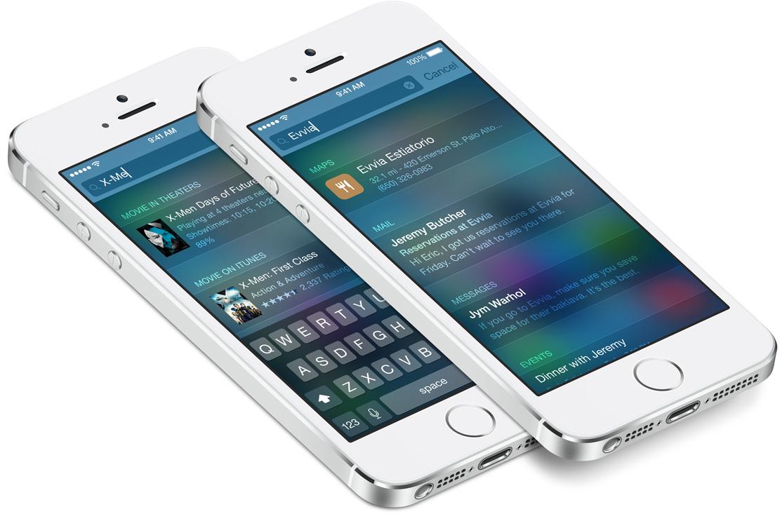 iOS 8 Spotlight