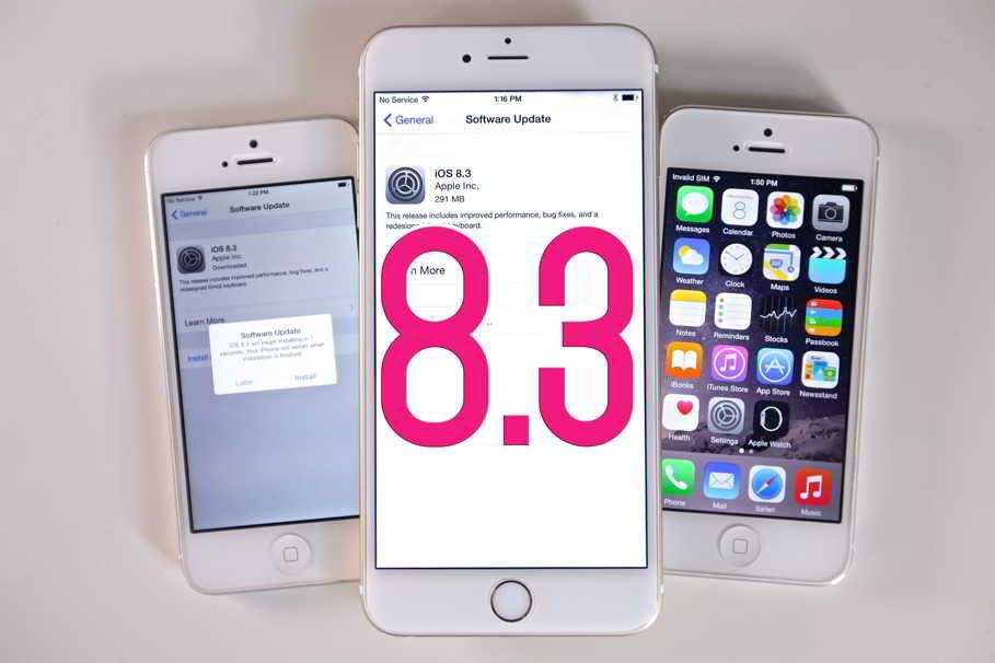 iOS 8.3 autonomie baterie