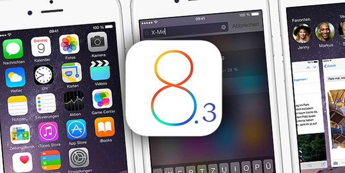 iOS 8.3 probleme
