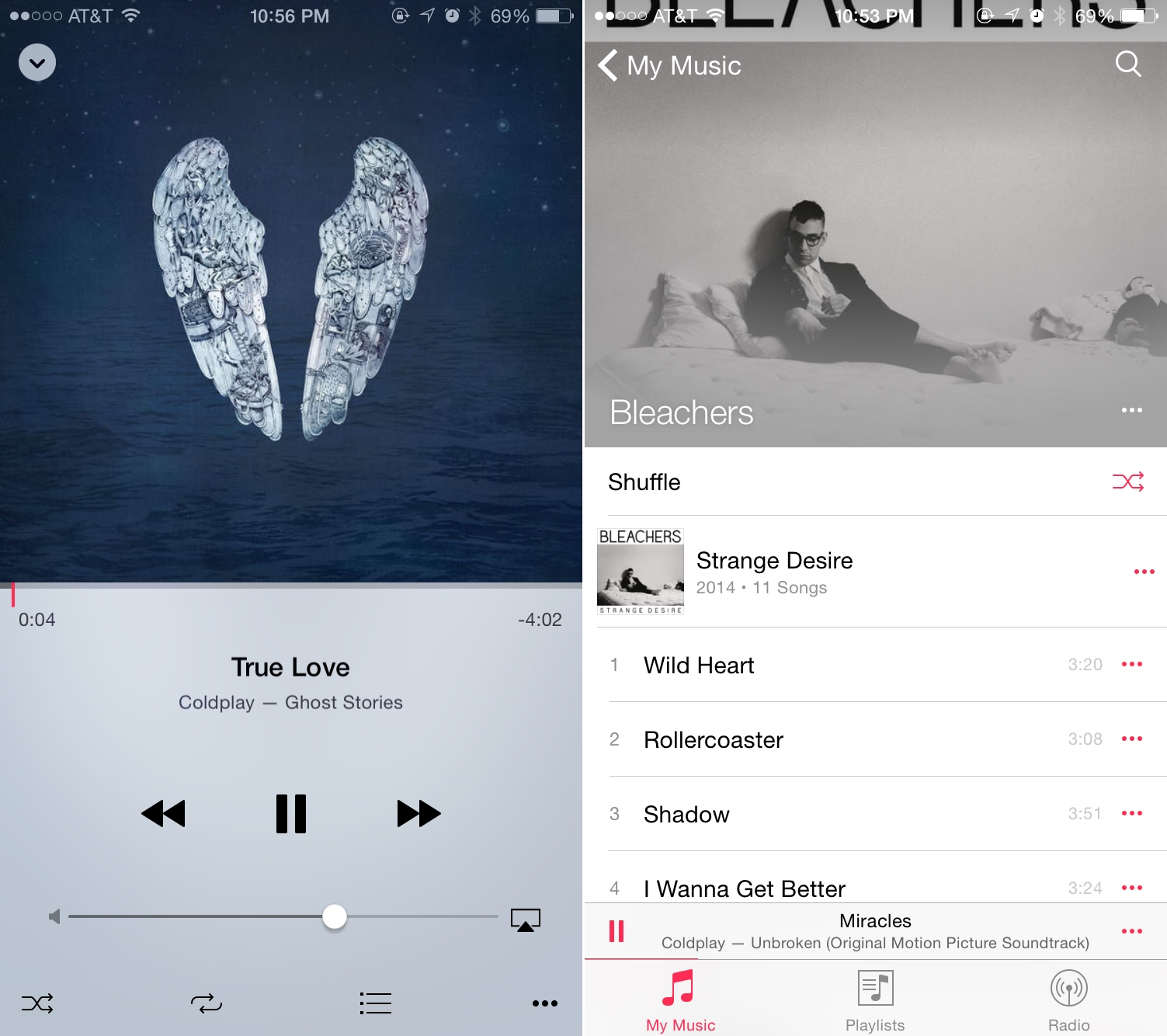 iOS 8.4 aplicatie Muzica My Music 1