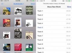 iOS 8.4 audiobooks