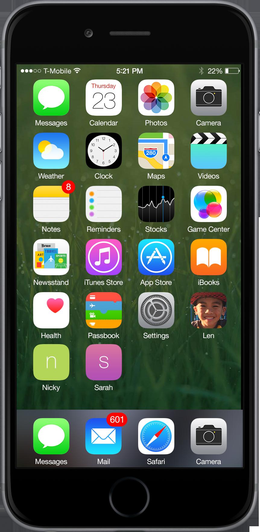 iOS pentru copiii