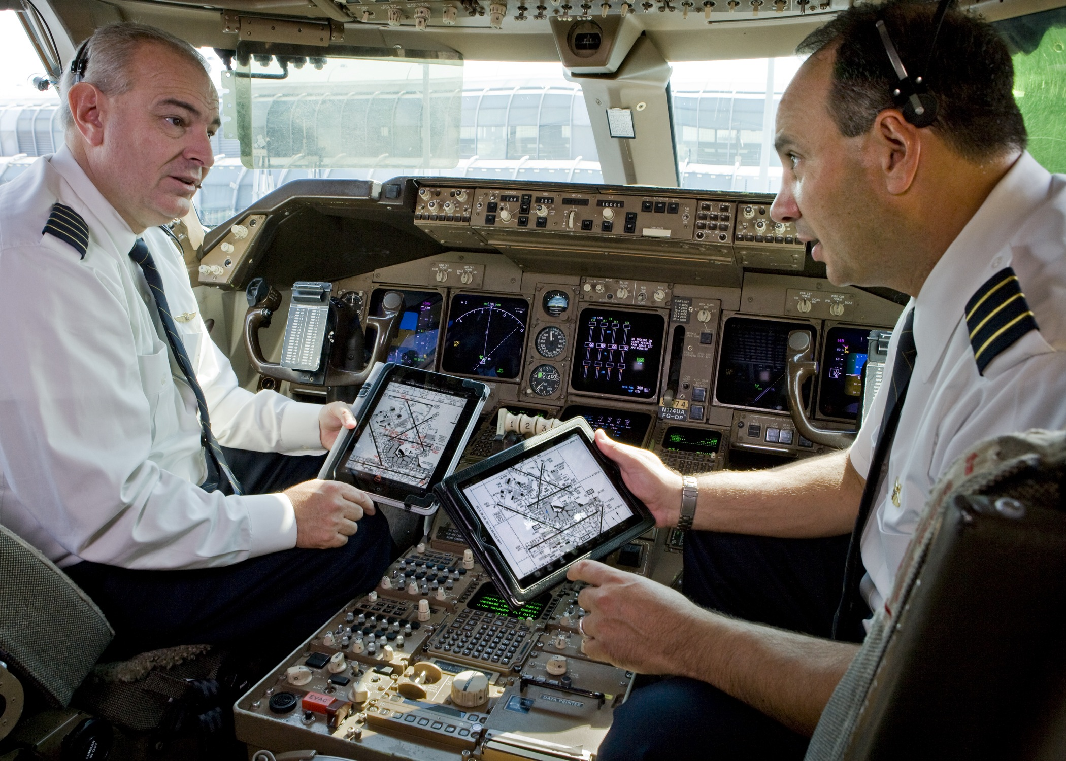iPad American Airlines