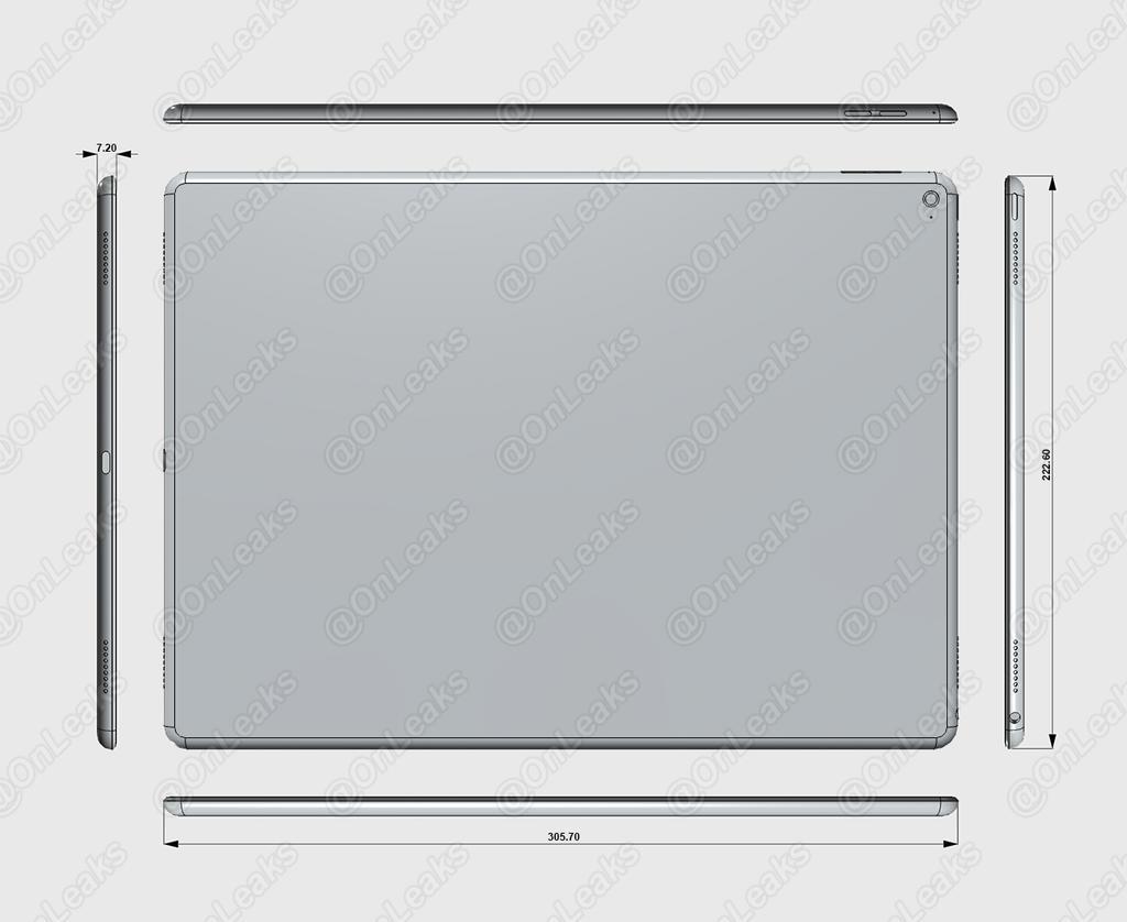 iPad Pro schita Apple
