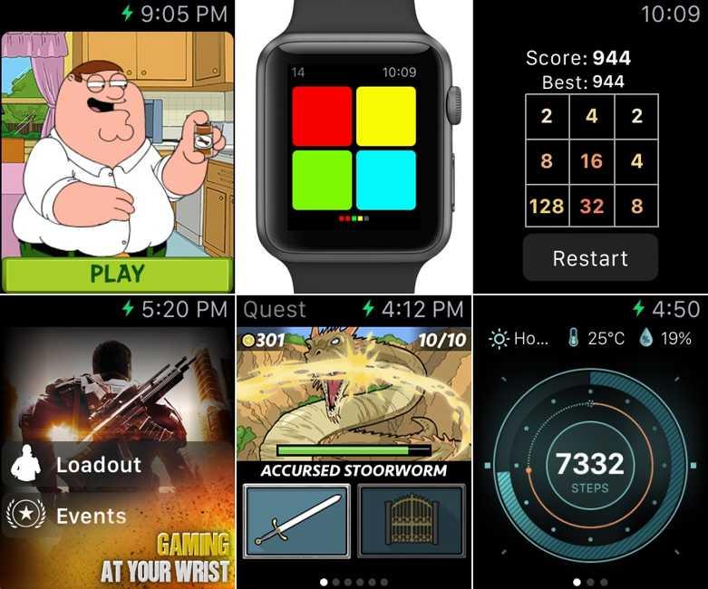 jocuri Apple Watch