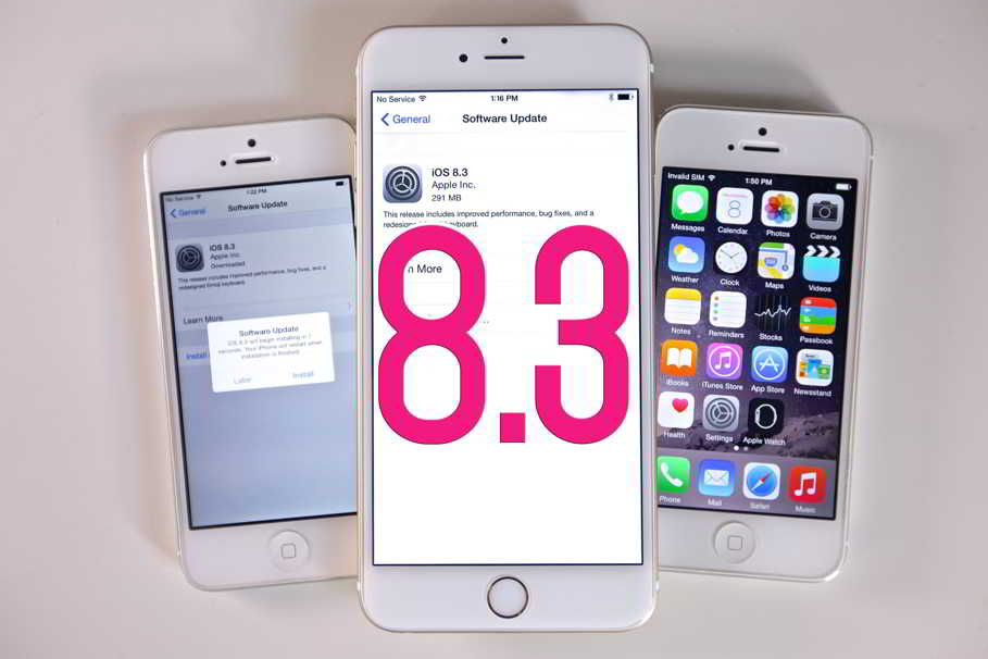 merita instalat iOS 8.3