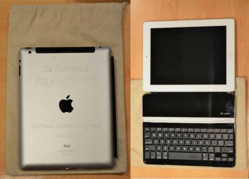 tableta iPad papa