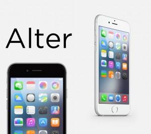 Alter tema iOS 8