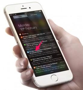 Android screenshot aplicatie iOS