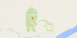 Android urineaza pe Apple, Google inchide Map Maker