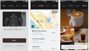 Aplicatie Starbucks furt
