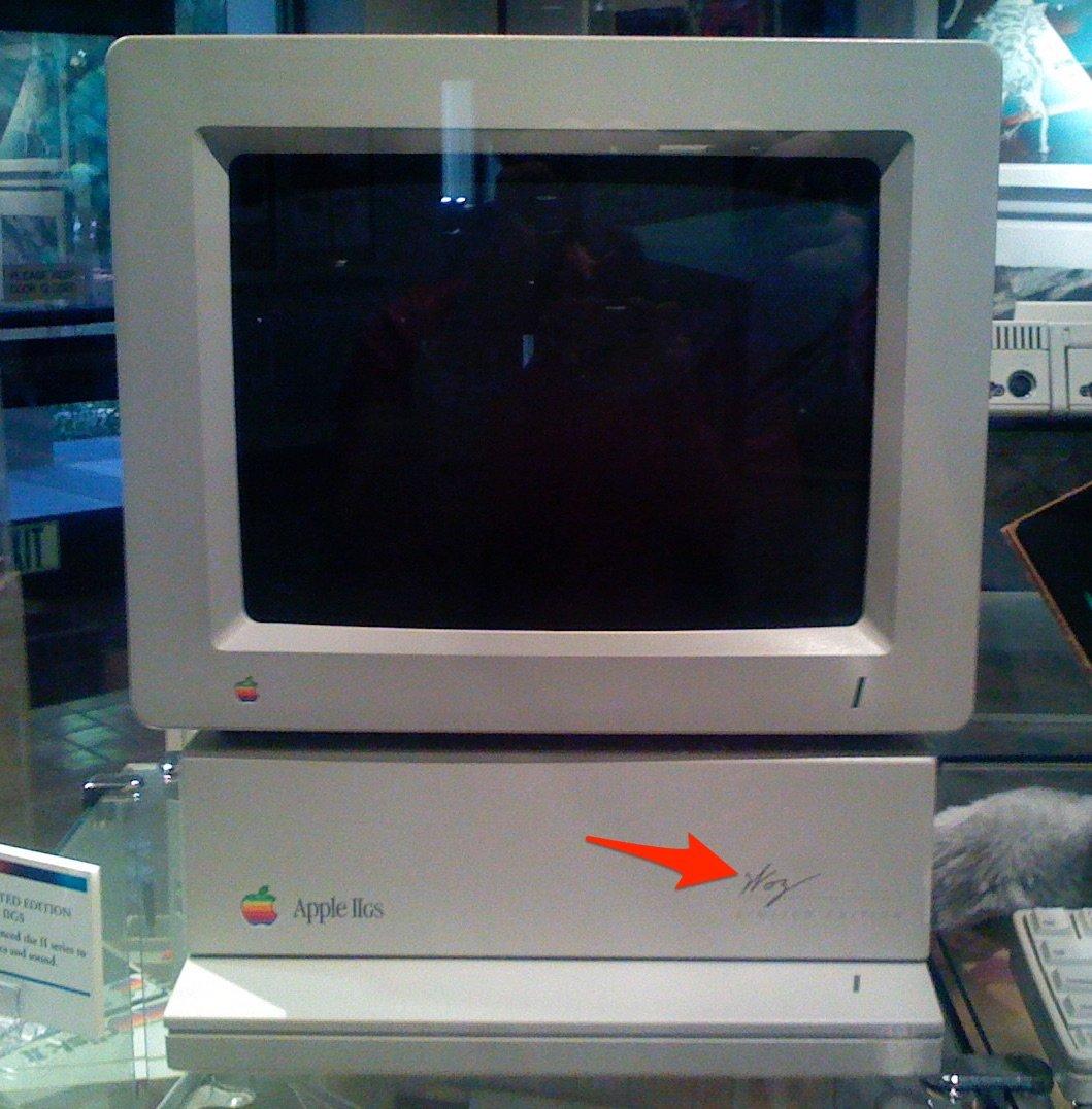"Apple IIGS ""Woz Edition"" Mac"