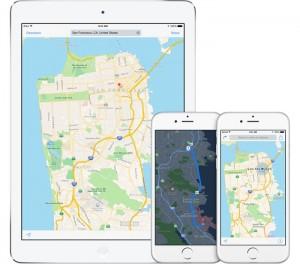 Apple Maps TomTom