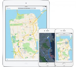 Apple Maps baza de date