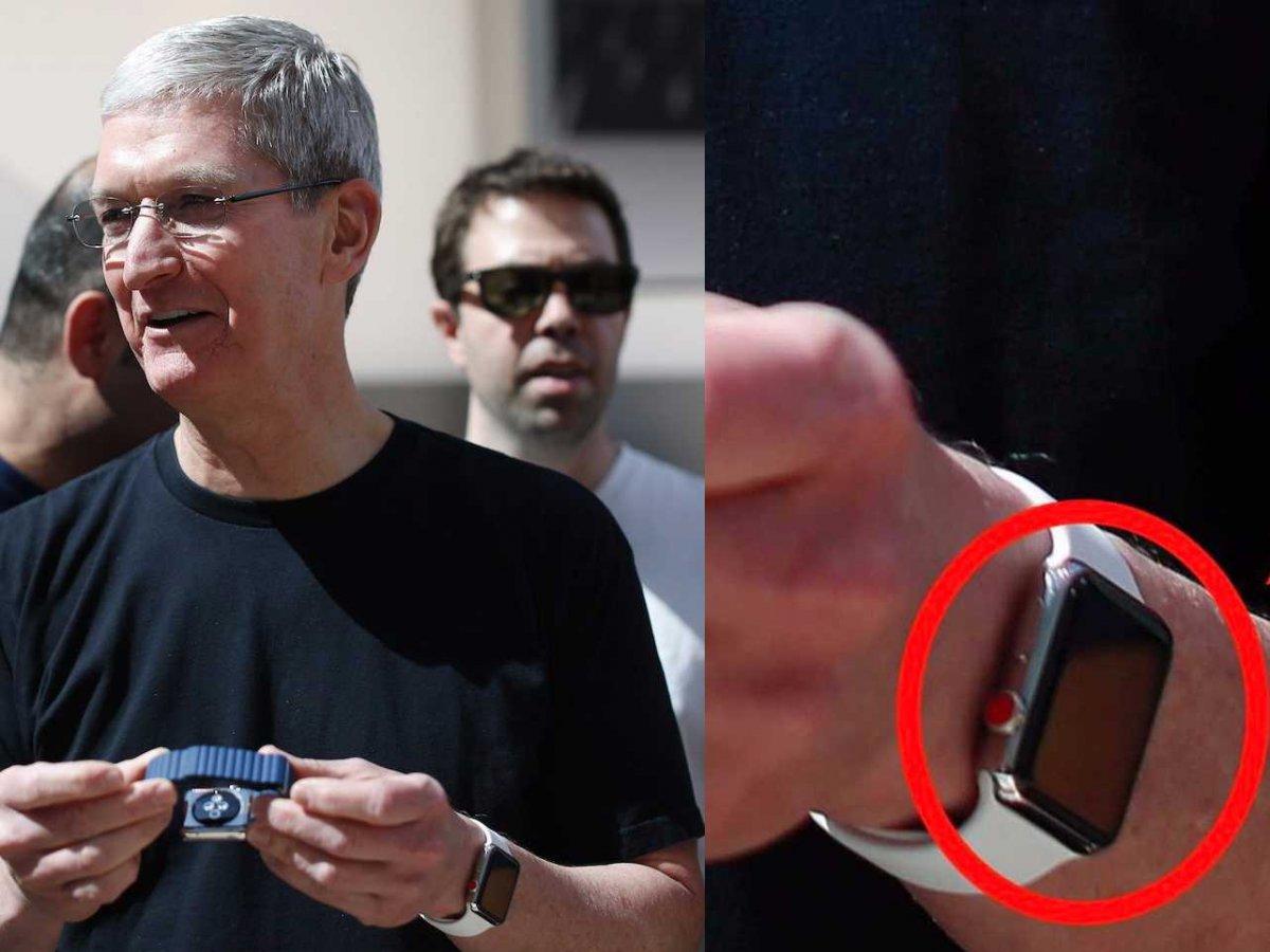 Apple Watch coroana digitala rosie