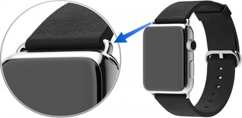 Apple Watch curea piele 1 - iDevice.ro