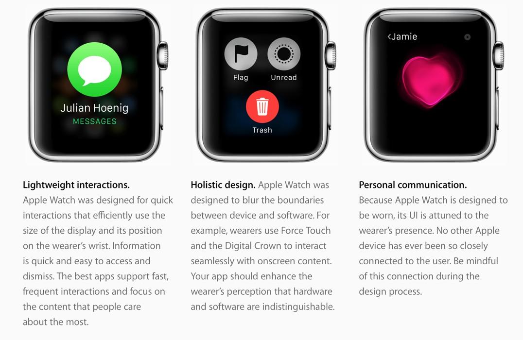 Apple Watch dezvoltare