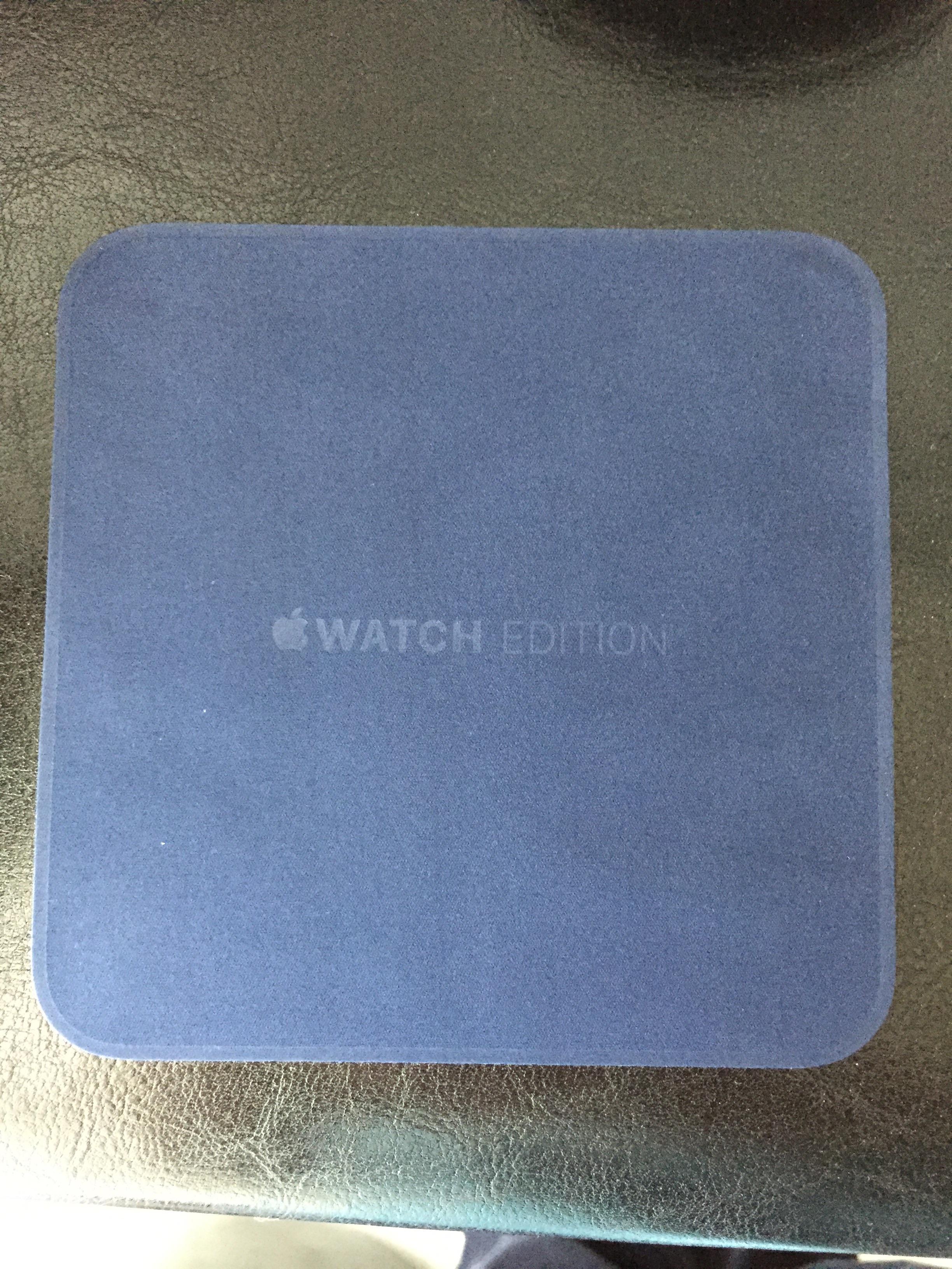 Apple Watch din aur livrare 2