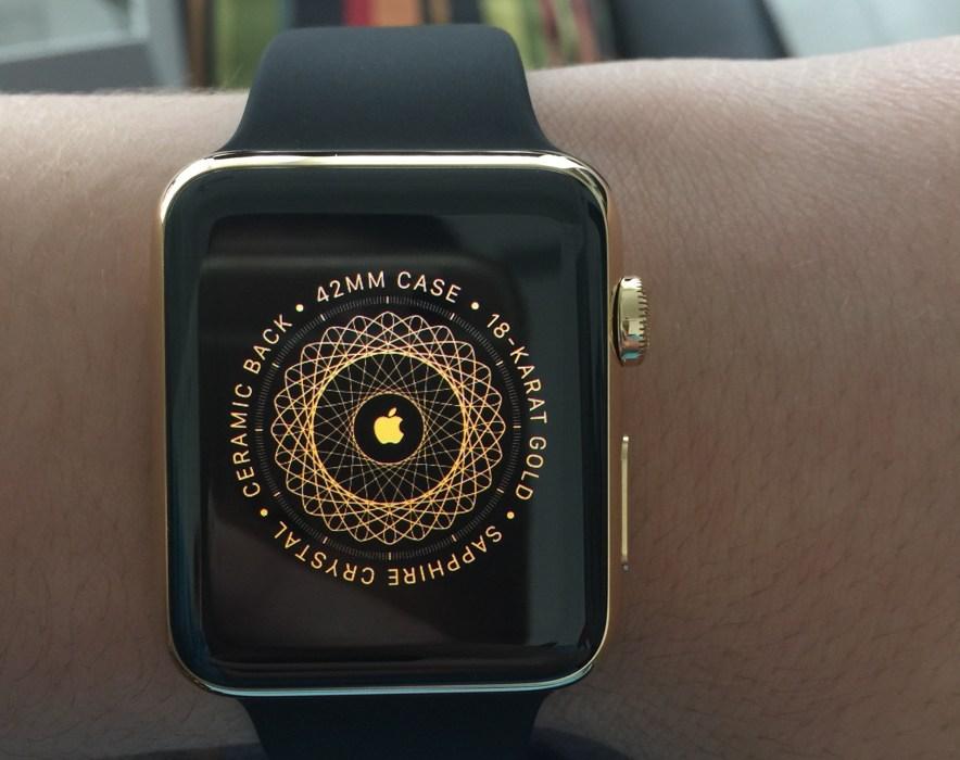Apple Watch din aur livrare