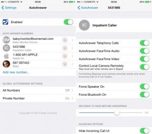 AutoAnswer8 (iOS 8)