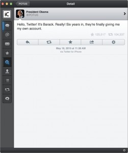 Barack Obama iPhone Twitter